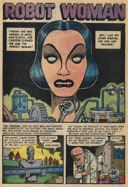 Basil Wolverton Robot Woman Weird Mysteries 002 1_cr