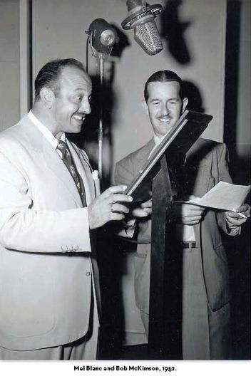 Mel Blanc and Bob McKimson 1952