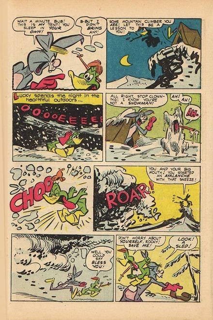 Lucky Duck Irv Spector comic book scans 07
