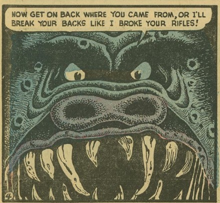 Basil Wolverton Swamp Monster Weird Mysteries 5 04_cr