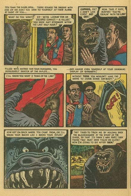 Basil Wolverton Swamp Monster Weird Mysteries 5 04