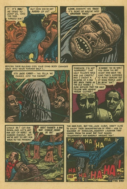 Basil Wolverton Swamp Monster Weird Mysteries 5 06